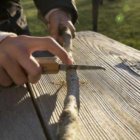 Джобен нож Kikkerland - Huckleberry First Pocket Knife
