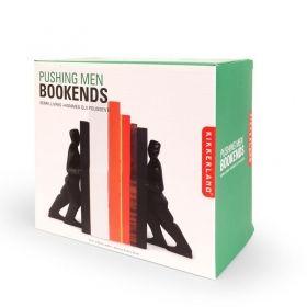 Комплект ограничители за книги Kikkerland - Бутащи мъже