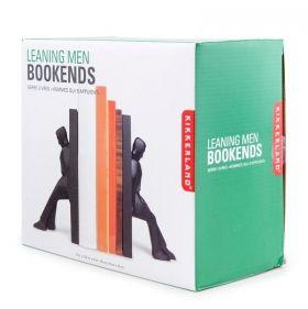 Комплект ограничители за книги Kikkerland - Подпиращи мъже