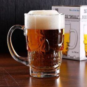 Чаша за бира Out of the Blue - Череп