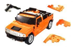 3D пъзел от 70 части Eureka - Hummer H2
