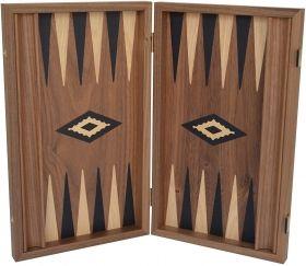 Луксозна табла Manopoulos - Американски орех, 47x38 см