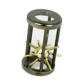 Логически пъзел Eureka Archimedes Challenge - Sphere & Cylinder, метален