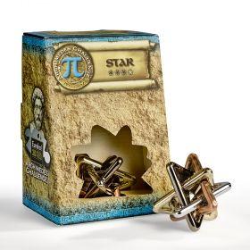 Логически пъзел Eureka Archimedes Challenge - Star, метален