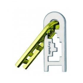 Метален логически пъзел Hanayama - Ключалка