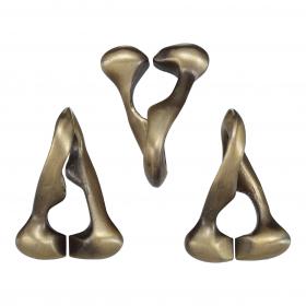 Метален логически пъзел Hanayama - Троица