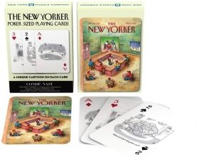 Карти за игра New York Puzzle Co. - The New Yorker - Спорт