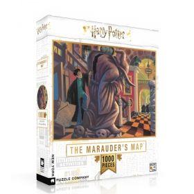Пъзел от 1000 части New York Puzzle - Хари Потър - Хитроумната Карта
