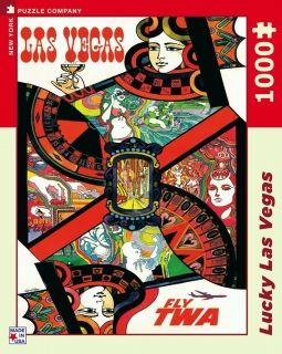 Пъзел от 1000 части New York Puzzle - Късметлийски Лас Вегас