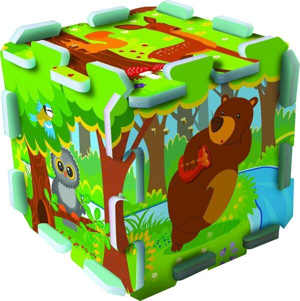 Бебешки пъзел за под Trefl от 8 части - Забавления в гората