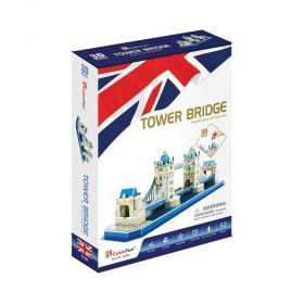 3D Пъзел Cubic Fun от 52 части - Tower Bridge
