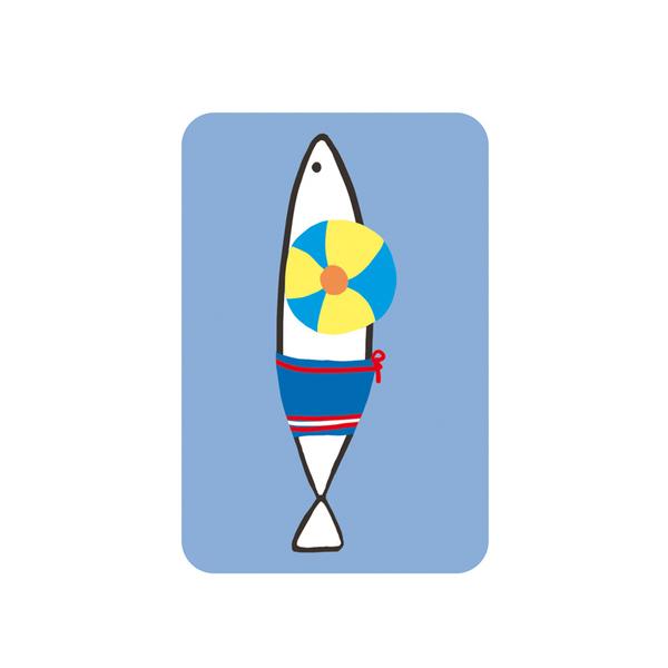 Djeco карти за игра Sardines
