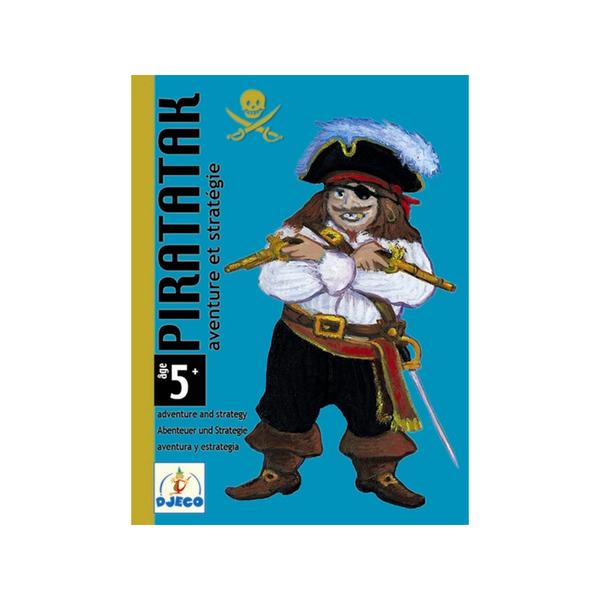 Djeco карти за игра Piratatak