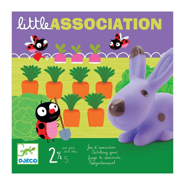 Djeco игра на асоциации Little association