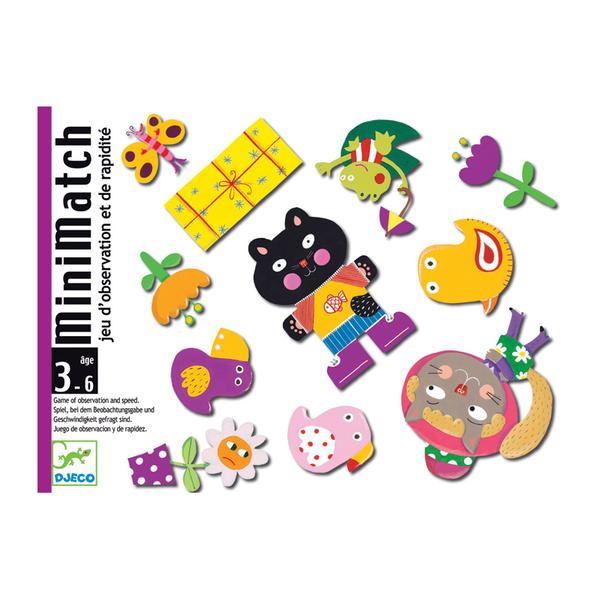 Djeco игра с карти MiniMatch
