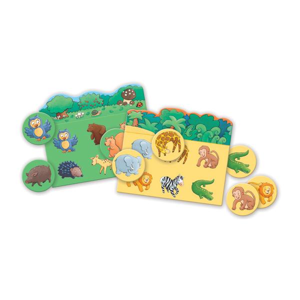Djeco образователна игра лото животни