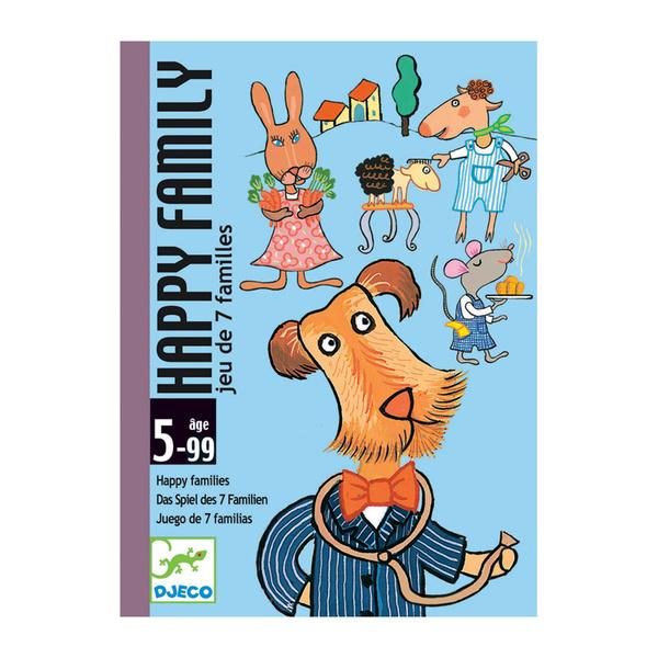 Djeco карти за игра Щастливото семейство