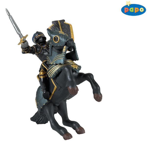 Papo фигурка рицар черна ризница