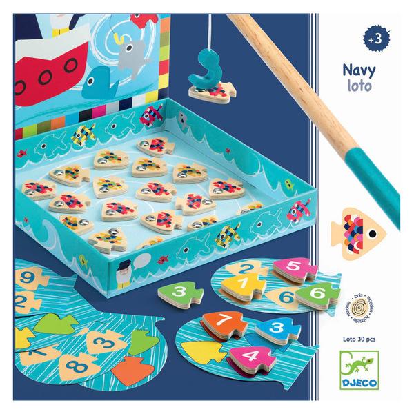 Djeco игра navy loto