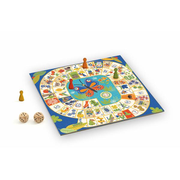 Djeco занимателна семейна игра Goose game