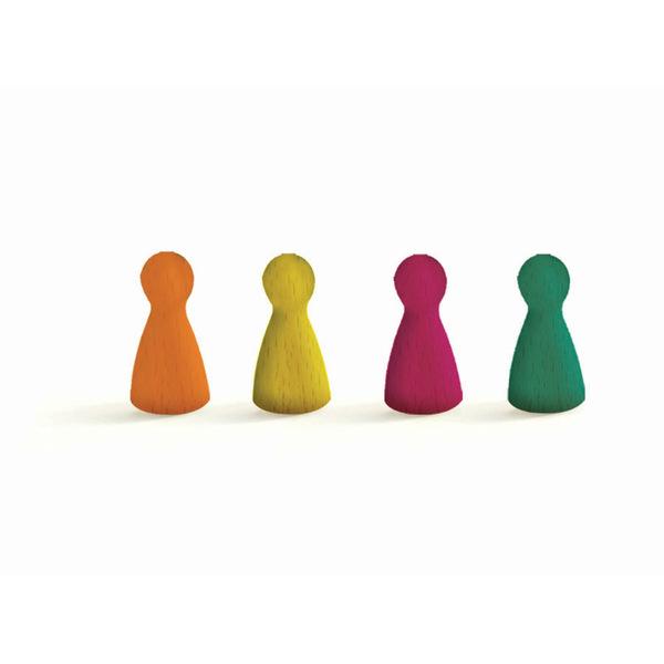 Djeco занимателна семейна игра ludo game
