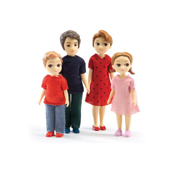 Djeco кукли фигурки семейство Томас и Марион