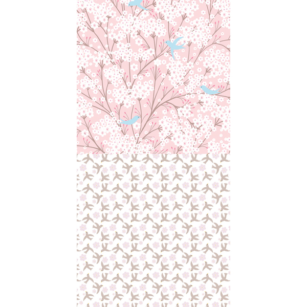 Djeco бебешка постелка цвете памук