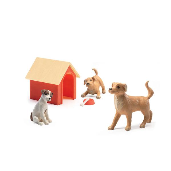 Djeco семейство домашни любимци кученца