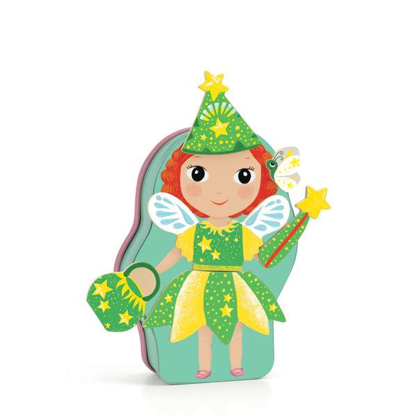 Djeco игра с магнити феи и принцеси