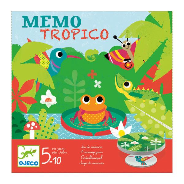 Djeco игра мемо тропико