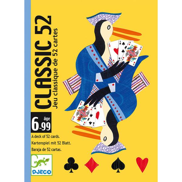 Djeco класически карти за игра 52бр