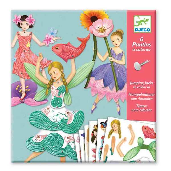 Djeco детска игра ателие за движещи се кукли феи