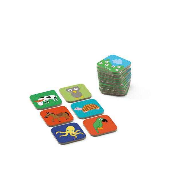 Djeco 12 класически игри в кутия