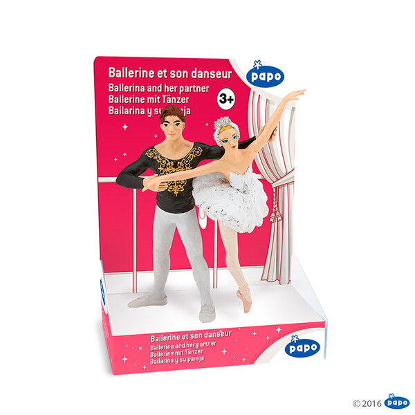 Papo фигурка балерина с балетист