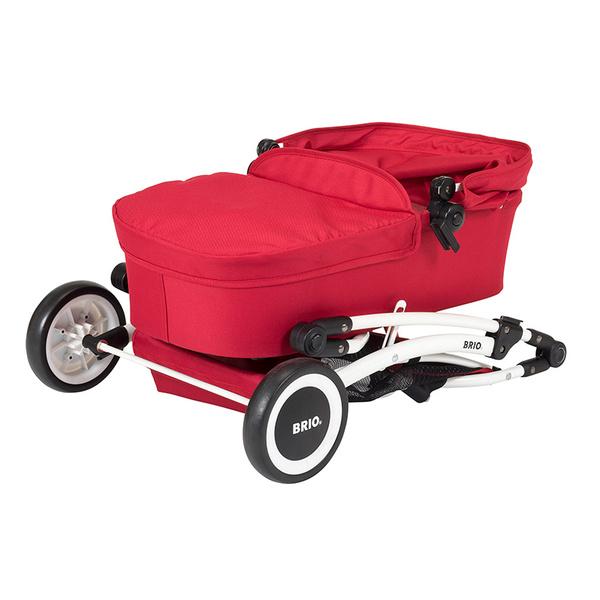 Brio количка за кукла метал