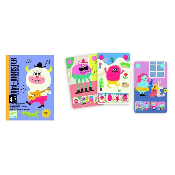 Djeco игра с карти Mini monster