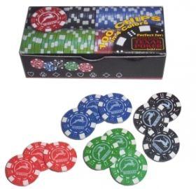 100 покер чипа Модиано х11,5 гр.