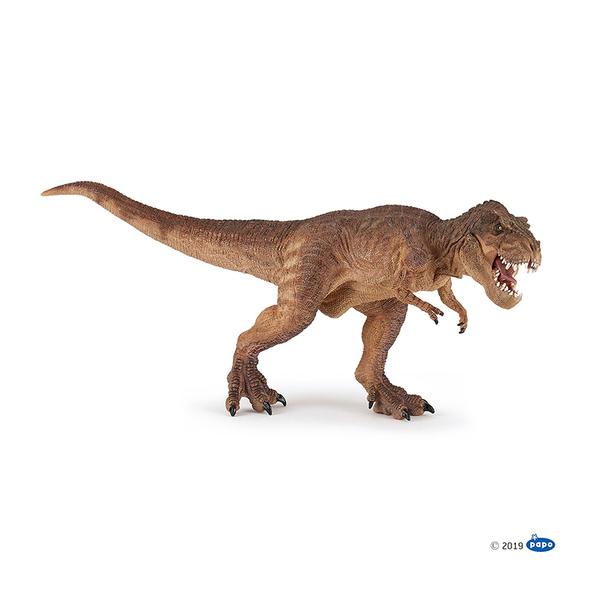 Papo фигурка кафяв бягащ T-Rex