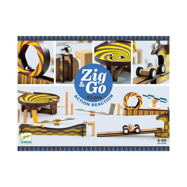 Djeco конструктор Zig & Go 45 части