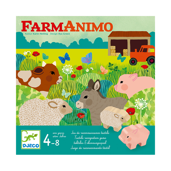 Djeco игра FarmAnimo