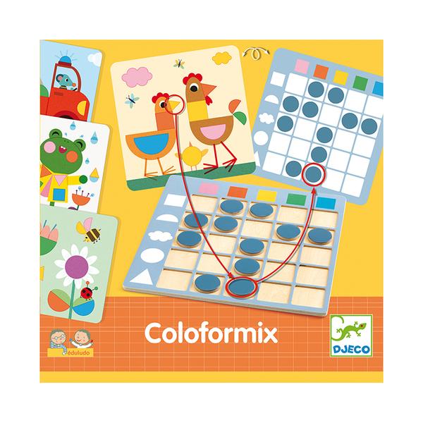 Djeco образователна игра Coloformix