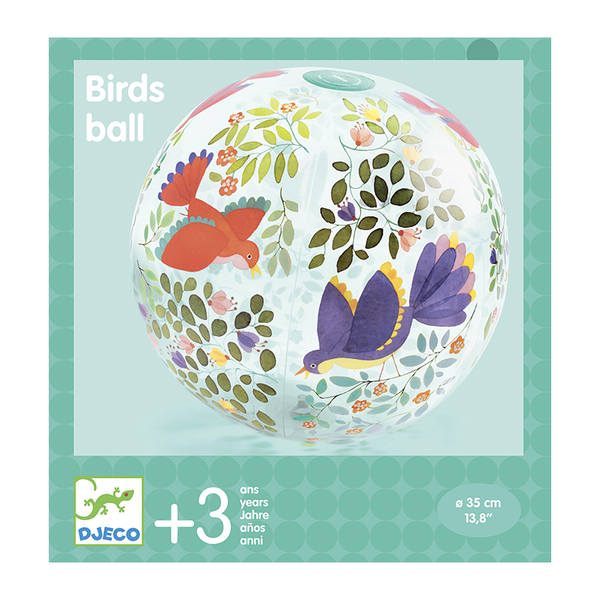 Djeco надуваема топка Birds
