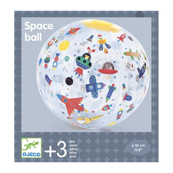 Djeco надуваема топка Space