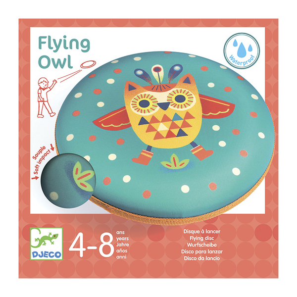 Djeco фризби Flying owl