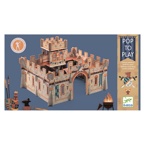 Djeco средновековен замък 3D