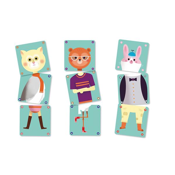 Djeco карти за игра Animomix
