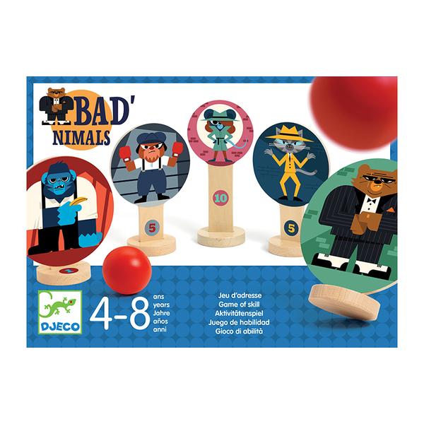Djeco игра Bad'nimals