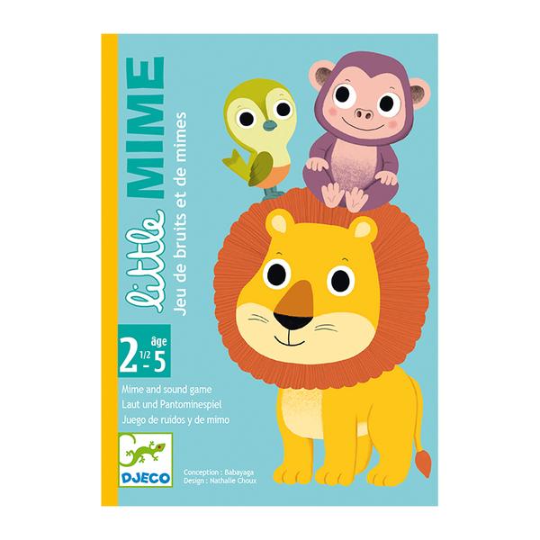 Djeco карти за игра Little mime