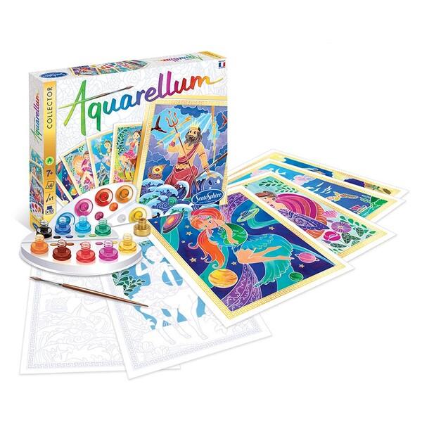 Sentosphere комплект за оцветяване с акварелни бои Митология