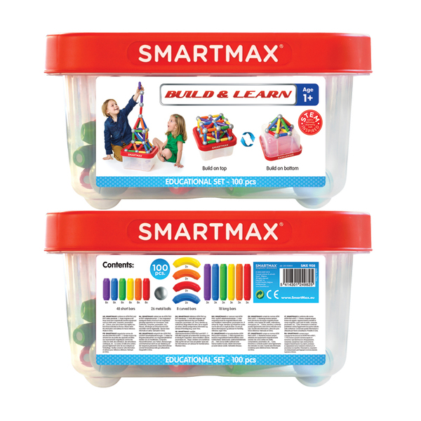Smart Games конструктор Smart Max Build and Learn 100 части